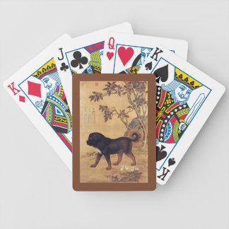 Tibetan Mastiff ~ ~ Giuseppe Castiglione van Bicycle Speelkaarten