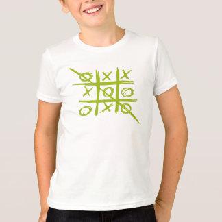 Tic-TAC-teen Tris Noughts en het spel van Kruisen T Shirt
