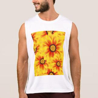 Tickseed het kleurrijke gele patroon van de zomer hemd