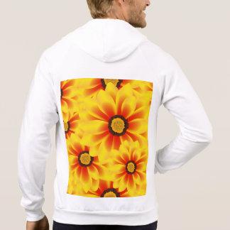 Tickseed het kleurrijke gele patroon van de zomer sweater