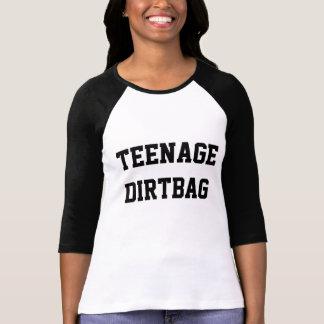 Tiener Raglan Dirtbag T-shirt