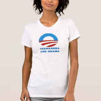 Tieners voor t-shirt Obama