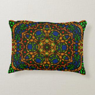 Tiffglow Mandala 1 Langwerpig Hoofdkussen Decoratief Kussen