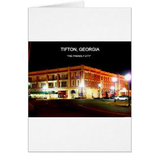 TIFTON, GEORGIË WENSKAARTEN