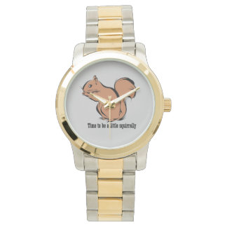 Tijd een klein Horloge te zijn Squirrely