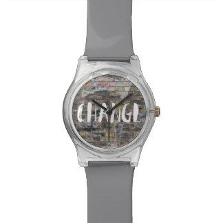 Tijd voor een Horloge van Graffiti van de