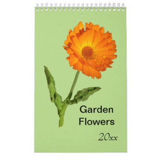 Tijdschema - enige pagina - de Bloemen van de Tuin Kalender