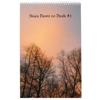 Tijdschema - Hemelen Dawn aan Schemer #2 Kalender