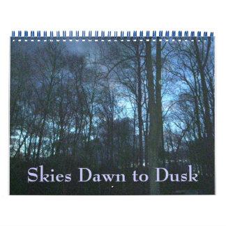 Tijdschema - Hemelen Dawn aan Schemer Kalender