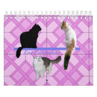Tijdschema - Katten Kalender