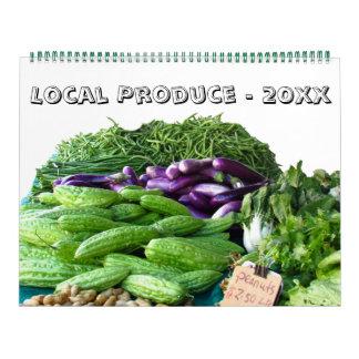 Tijdschema - Lokale Opbrengst voor Dit Jaar Kalender
