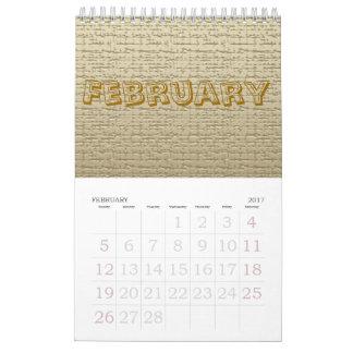 Tijdschema - Texturen Kalender