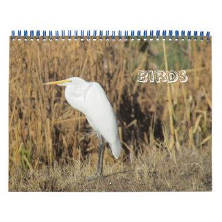 Tijdschema - Vogels voor Nieuwjaar Kalender