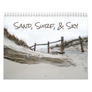 Tijdschema - Zand, Branding, & Hemel Kalender