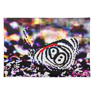 Tijger-gestreepte Vlinder Placemat