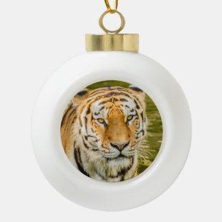 tijger op het Ceramische Ornament van de Bal