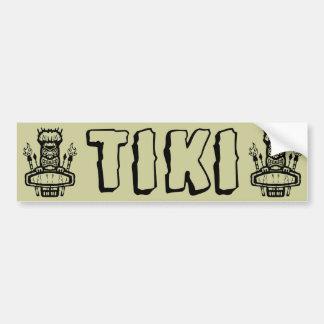 Tiki Bumpersticker