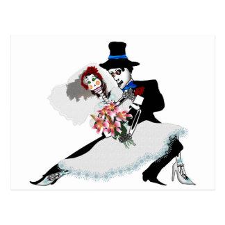 'Til Death Do Us Part - Dag van het Dode huwelijk Wenskaart