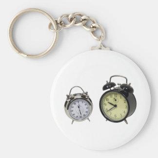 TimerAlarm082009 Basic Ronde Button Sleutelhanger