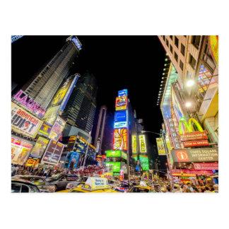 Times Square in de Stad die nooit Slaap Briefkaart
