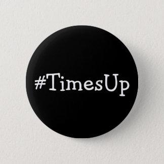 #TimesUp Solidariteit tegen Misbruik en Kwelling Ronde Button 5,7 Cm