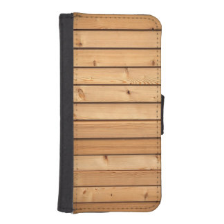 Timmerhout iPhone 5 Portefeuille Hoesjes