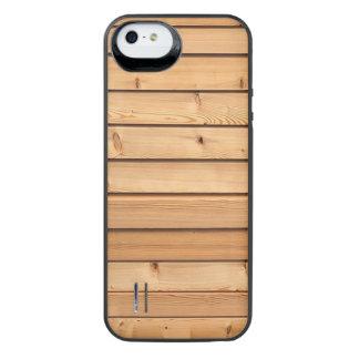 Timmerhout iPhone SE/5/5s Batterij Hoesje
