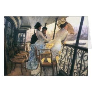 Tissot: De galerij van H.M.S. Calcutta Kaart