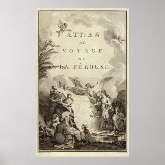 Titelpagina van Atlas van Frankrijk Poster