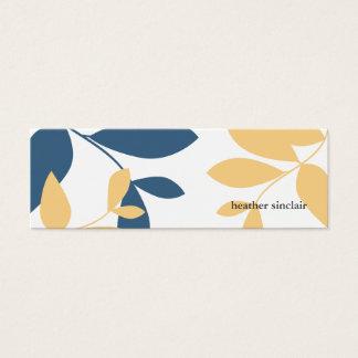 tjilpen kaart mini visitekaartjes