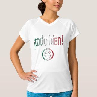 ¡ Todo Bien! De Kleuren van de Vlag van Mexico T Shirt