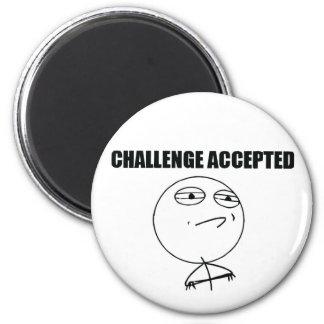 Toegelaten uitdaging magneet