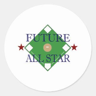 Toekomstig All Star Ronde Sticker