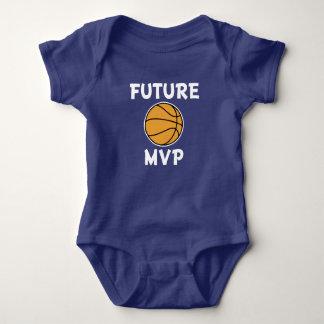 Toekomstig de jongensoverhemd van het basketbalMVP Romper