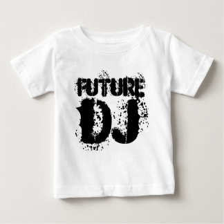toekomstig DJbaby, kinder het vestkruippakje van Baby T Shirts