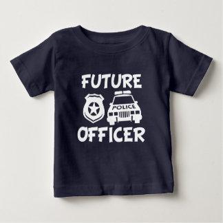 Toekomstig het babyoverhemd van de Politieman Baby T Shirts