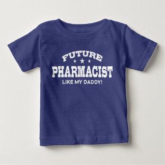 Toekomstige Apotheker zoals mijn Papa Baby T Shirts