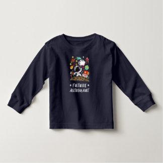Toekomstige Astronaut, Ruimte, Planeten, Raket. Kinder Shirts