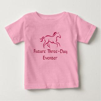 Toekomstige Driedaagse Eventer Baby T Shirts