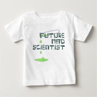 Toekomstige Gekke Wetenschapper Baby T Shirts