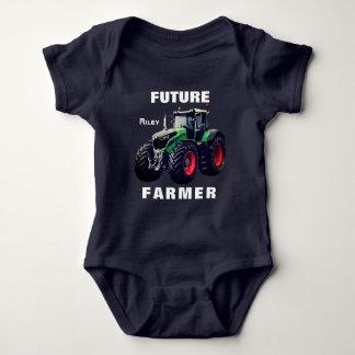 """Toekomstige Landbouwer"" & Tractor Romper"