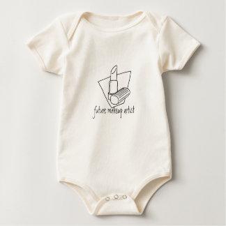 toekomstige make-upkunstenaar baby shirt