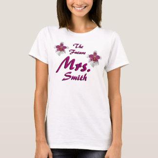 Toekomstige Mevr. Customizable T Shirt