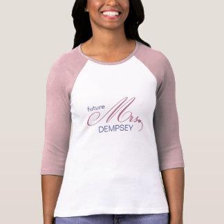 Toekomstige Mevr. Customizable T-Shirt