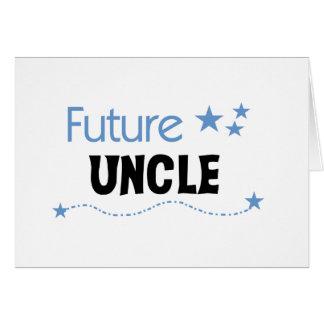 Toekomstige Oom T-shirts en Giften Kaart