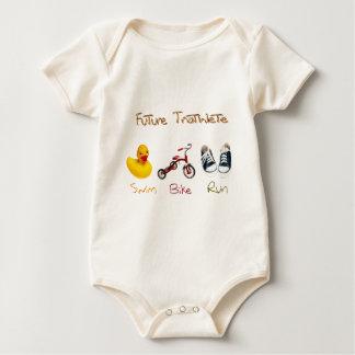 Toekomstige Triathlete Baby Shirt