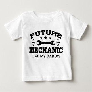 Toekomstige Werktuigkundige zoals Mijn Papa Baby T Shirts