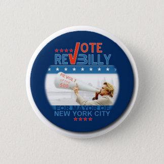 Toer Billy Pin van de stem Ronde Button 5,7 Cm