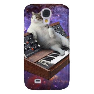 toetsenbord kat - kat memes - gekke kat galaxy s4 hoesje