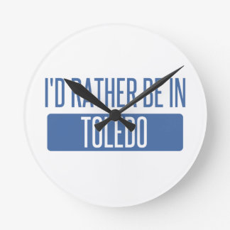 Toledo Ronde Klok
